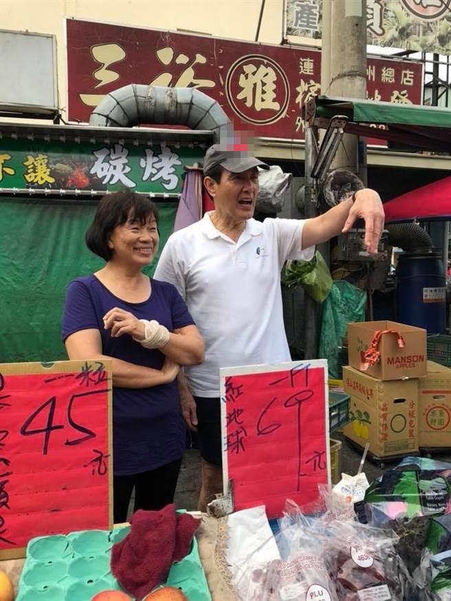"""马英九帮""""失业部长""""龙应台卖水果 罗智强:真为他高兴"""