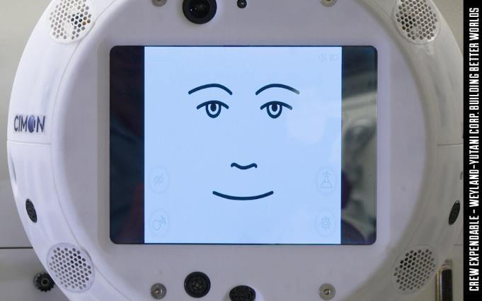 CIMON漂浮机器人头部将把AI带入国际空间站