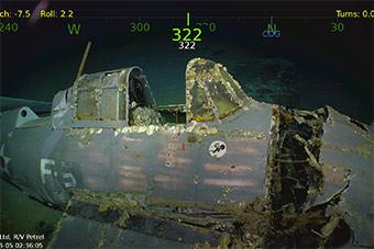 要造世界最大飞机的人发现海底美被日击沉航母