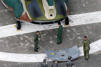 日直升机尾门飞行中掉落 曾发多起类似事件