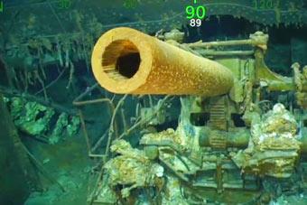 二战美军列克星敦号航母被发现 舰载机保存完好