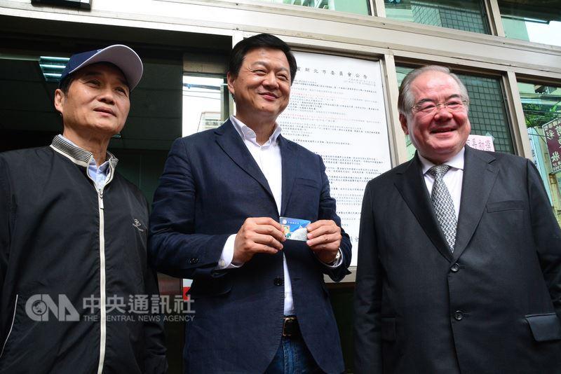 周锡玮登记参与国民党新北市长初选 喊话新北超越台北