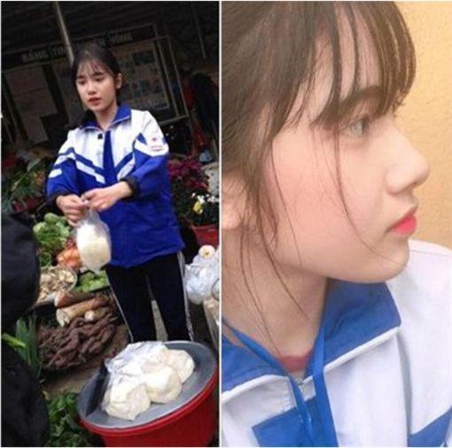 澳门网络赌博第一公司:高二女生帮妈妈卖豆腐成网红_外表清纯被网友追捧