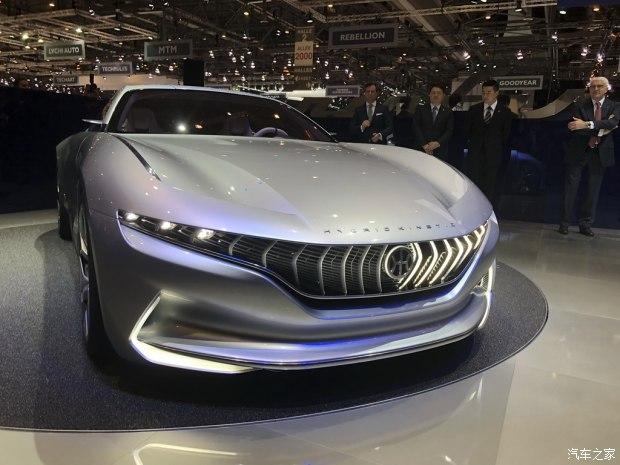 2018日内瓦车展:正道GT概念车发布