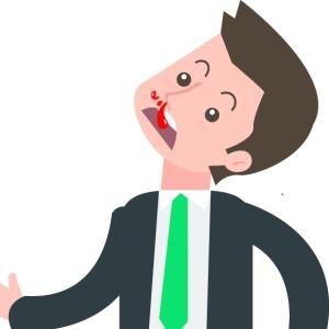 鼻出血时 你还在错误地止血吗