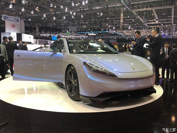 2018日内瓦车展:绿驰纯电动车Venere