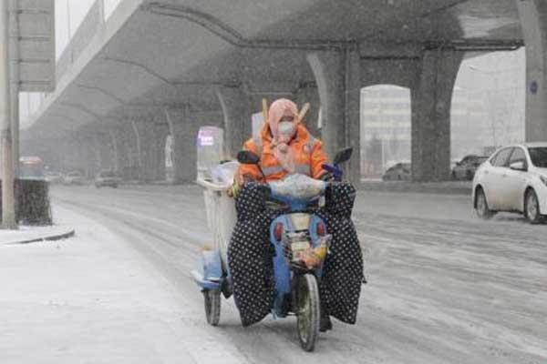 吉林两周迎三轮强降雪