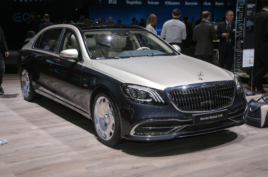 新款迈巴赫S级亮相日内瓦 8月欧洲上市