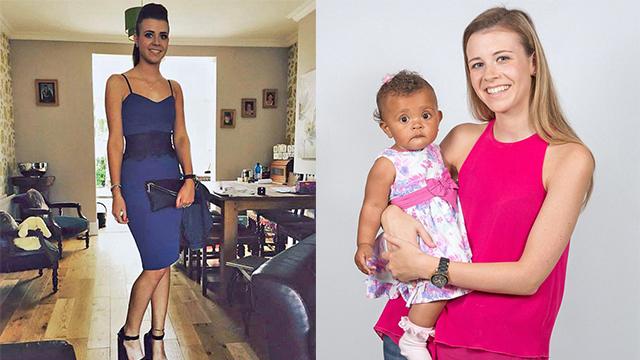 英女子孕期腹部平坦月经正常 直到分娩才得知怀孕