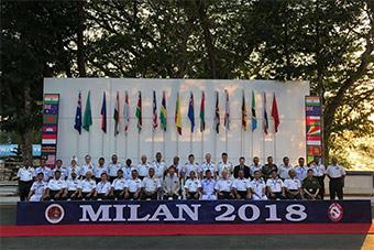印度联合印度洋多国举行宏大演习 30艘舰艇参加