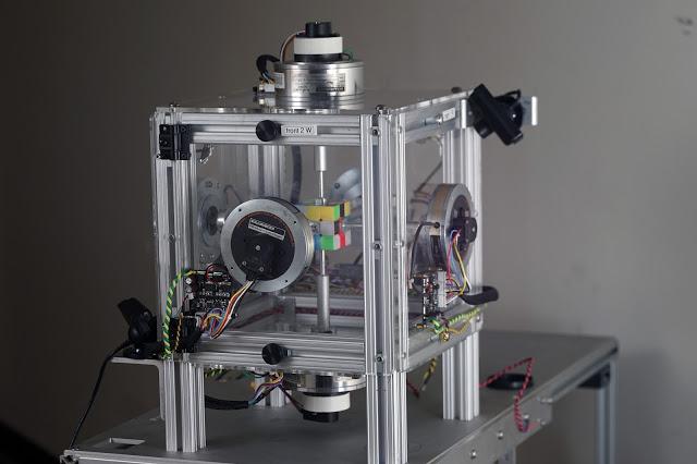 破纪录!MIT研发的机器人0.38秒解开三阶魔方