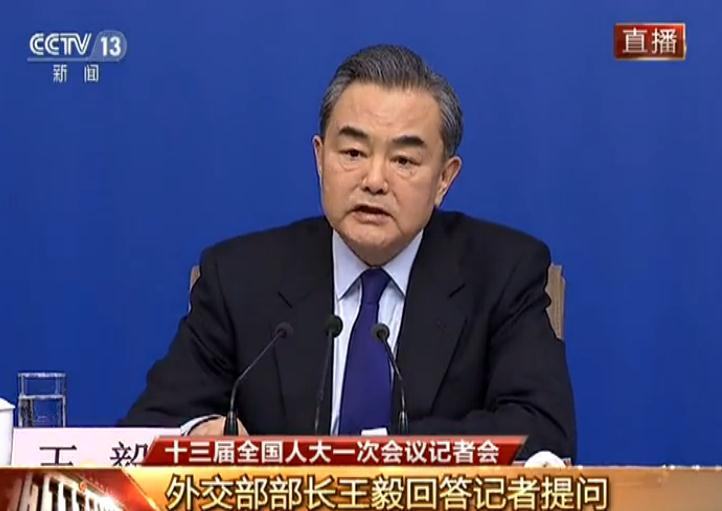 中方是否认为美方应该撤离驻韩美军?王毅回应
