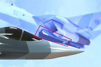 苏57腹部确认是弹舱?官方CG展示打开方式