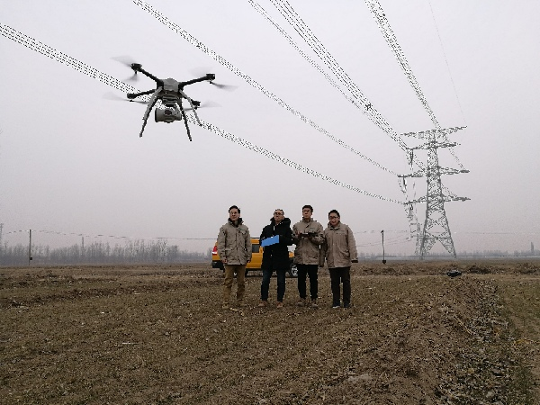 国网天津检修公司:无人机助力线路精益运维