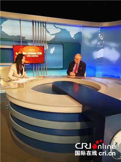 阿根廷驻华大使:中国的发展为世界树立榜样