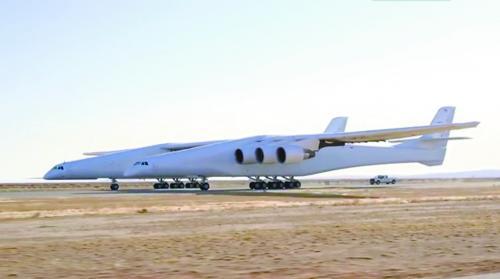 """""""世界最大飞机""""距离空射火箭又进一步"""
