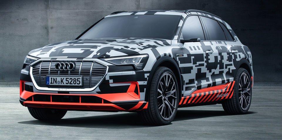 奥迪e-tron纯电动SUV原型车亮相日内瓦车展
