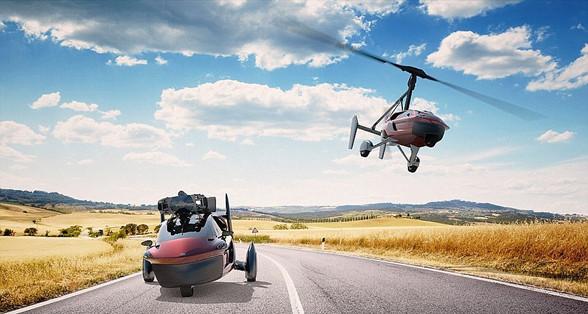 全球首款飞行车亮相日内瓦车展 可同时承载2人
