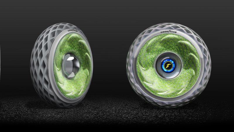 未来轮胎都是黑科技 固特异推出未来轮胎新方案