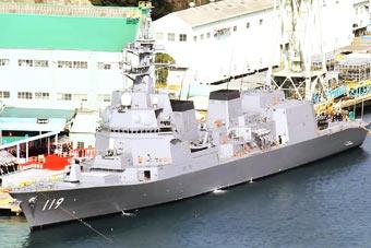 日本最强反潜舰朝日号服役 针对AIP潜艇而建