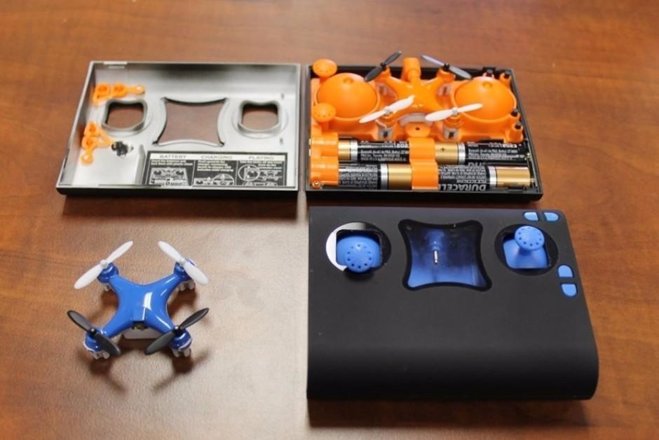 堪称史上最小无人机 用5号电池售价仅30美元