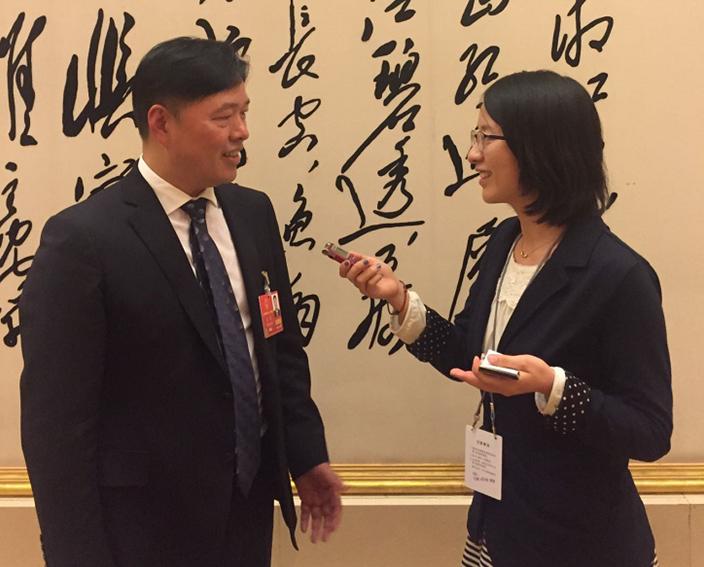 人大代表、步步高集团董事长王填:进入新时代,企业必须顺应潮流
