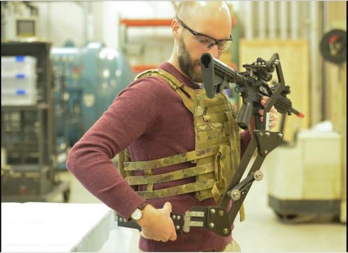 """美媒:美军开发""""异形""""式枪架 提升单兵战斗力"""