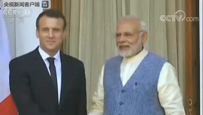 法国与印度签署约160亿美元核能、国防、贸易等方面双边合作协议
