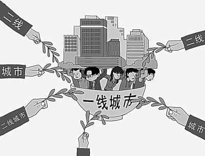 """二线城市""""抢人大战""""升级 """"家门口就业""""渐成新趋势"""
