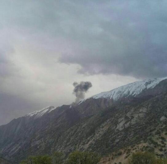 土耳其一架飞机在伊朗坠毁,机上11人全部遇难