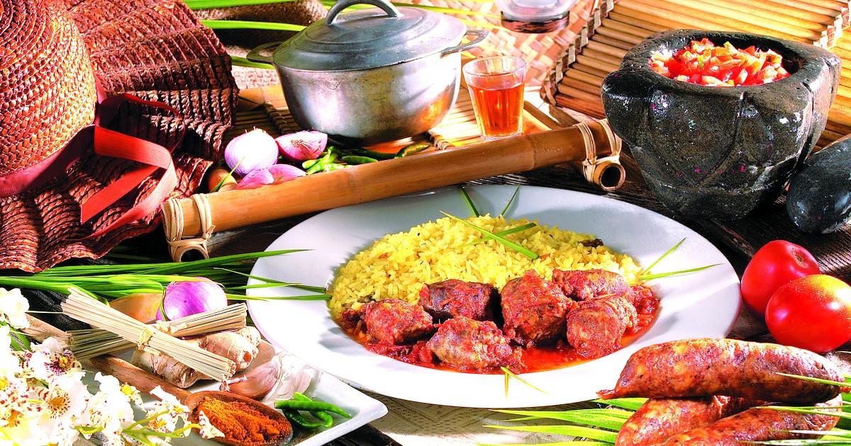 胡蓋 留尼汪的「火山菜」