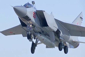 俄试射匕首高超音速导弹 近距离一睹导弹真容