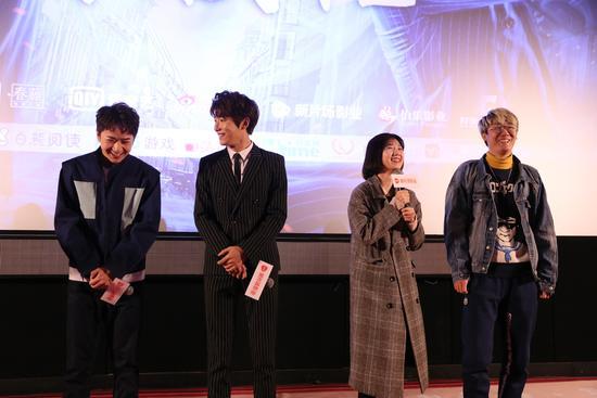 北京赛车PK10计划网:《灵契》首映礼获好评_高颜值主演圈粉无数