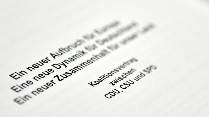德执政两党12日将签署联盟协议 联邦共和国史上最长组阁时期即将结束