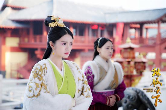 安以轩《独孤天下》演技炸裂 演绎权利的女人