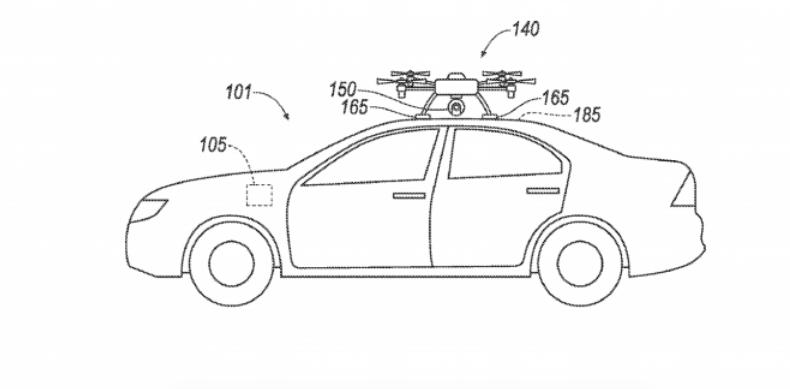 福特获批新专利:用无人机替代故障传感器 引领汽车前往维修中心