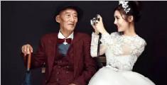 女孩和病重爷爷拍婚纱照:只想让他看到最美的我