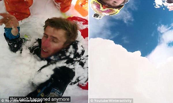 法滑雪者遭遇雪崩被埋 15分钟后被同伴救出