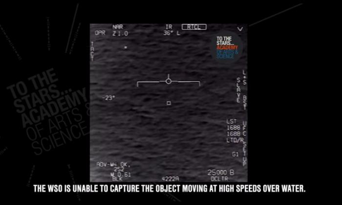 美军飞行员遭遇UFO视频曝光:场面一度失控