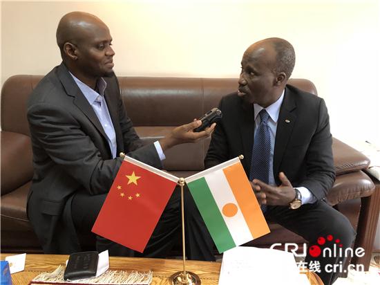 尼日尔驻华大使:中国飞速发展给非洲国带来发展机遇