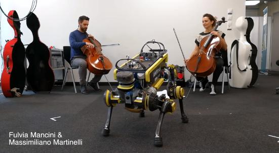 不依靠预编程 四足机器人可跟着音乐即兴跳舞