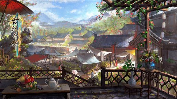 《古剑奇谭3》官方公布鄢陵场景:美轮美奂