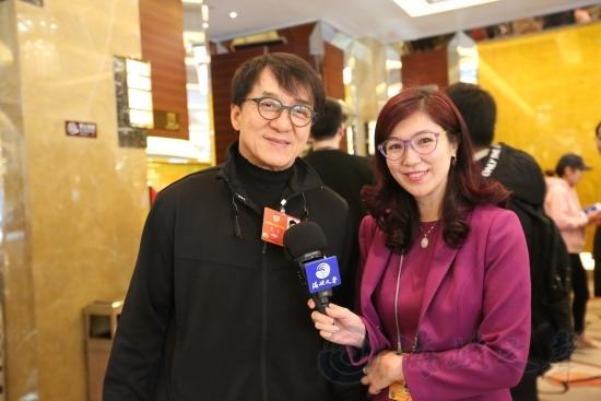成龙委员:鼓励香港台湾青年多来大陆交流合作