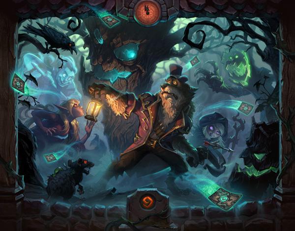"""《炉石传说》最新扩展包""""女巫森林""""即将上线"""