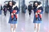陈妍希抱儿子亮相机场