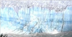 阿根廷: 南北极外最大冰川 再次大崩塌