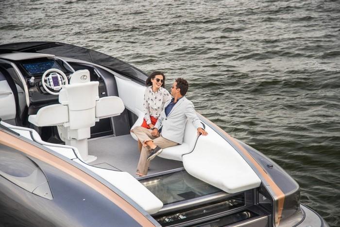 造型超前!雷克萨斯豪华运动游艇将正式发售