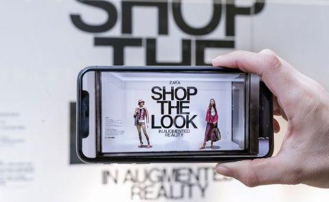 """店铺安装AR显示屏 Zara目标锁定""""千禧一代"""""""