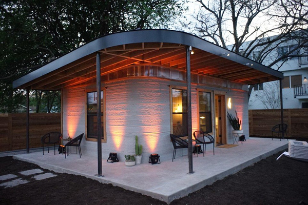 美公司使用3D打印技术建造房屋 可一天内建成