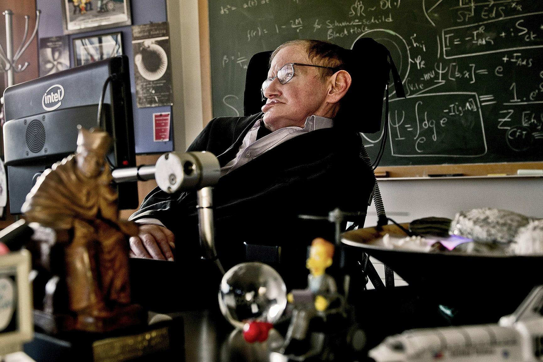 英国著名物理学家霍金去世